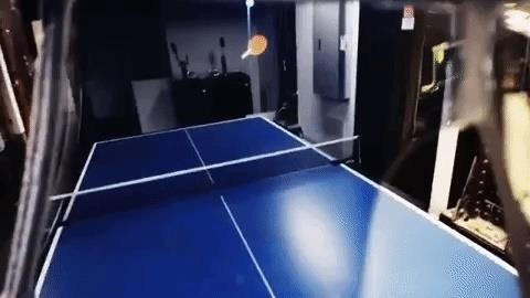 Leap Motion Shares Amazing Demo of Augmented Reality Table Tennis with AI Opponent
