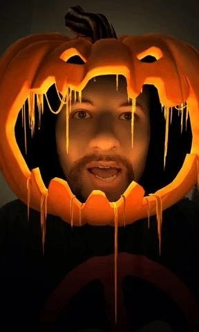 Facebook, Instagram & Snapchat Pass Out Halloween-Themed AR Filters Like Soooo Much Candy