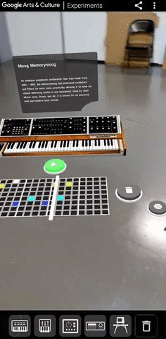Google Arts & Culture is dropping AR Synth exhibit for you to play