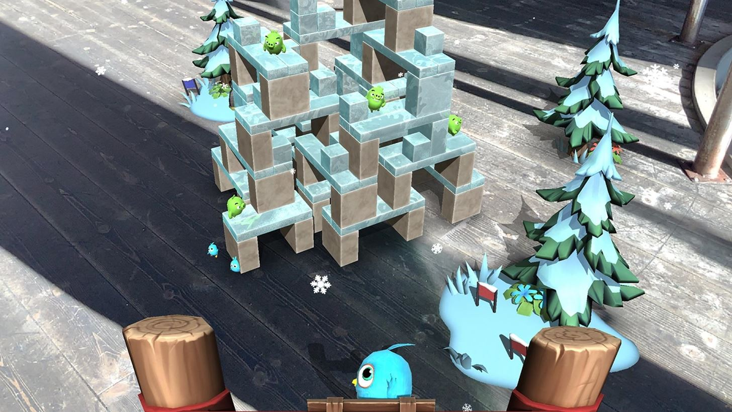 Angry Birds Returns to Its Mobile Roots with 'Isle of Pigs' Augmented Reality Game