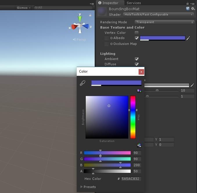 HoloLens 101: Building a Dynamic User Interface, Part 3 (Focus & Materials)