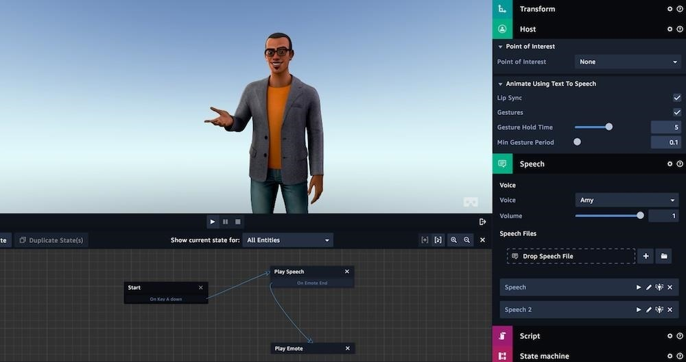 Amazon Launches Sumerian, Drag-and-Drop Tool for Quickly Creating & Deploying AR/VR Content