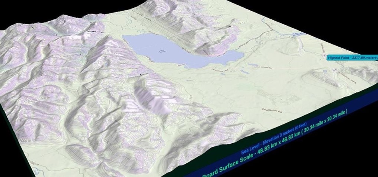 HoloTerrain Lets HoloLens Users Explore the Earth in 3D