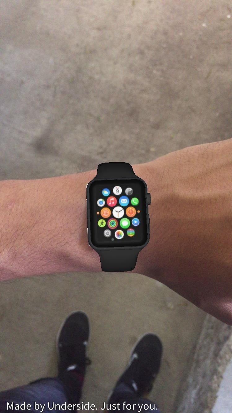 Use Augmented Reality to Try on the Apple Watch with Your iPhone