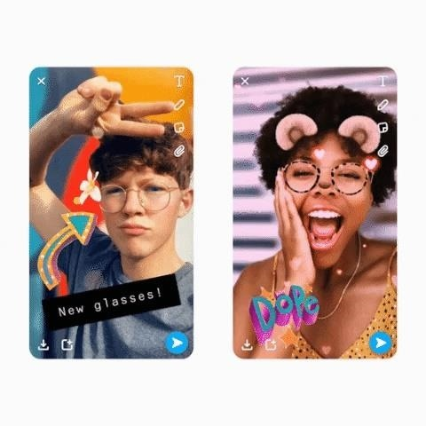 Snapchat Extends 3D Camera Effects from Spectacles 3 to iPhone's TrueDepth Camera