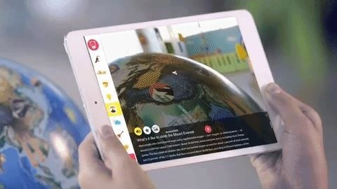 Orboot Reboots Globe with Augmented Reality Lessons for Kids