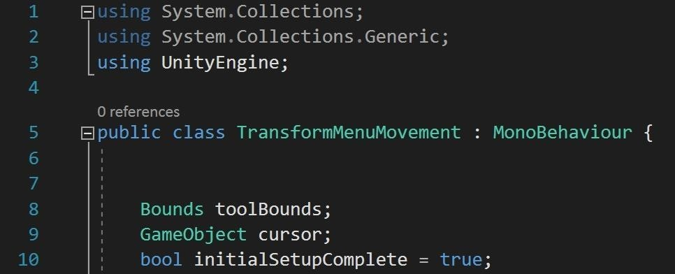 HoloLens Dev 101: Building a Dynamic User Interface for the HoloLens, Part 7 (Unlocking the Menu Movement)