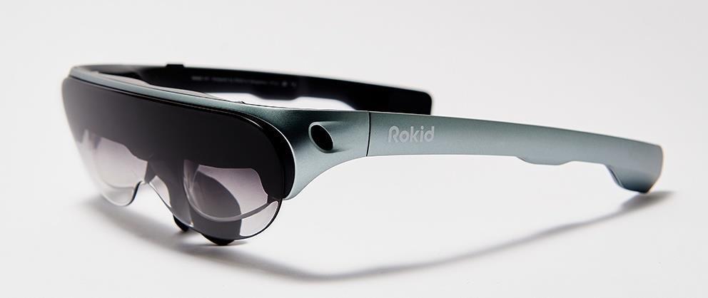 Rokid's New Smartglasses Mirror Content from Smartphones, Desktops, & Consoles to Virtual Screens