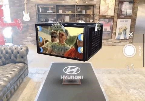 Live Nation & Hyundai have augmented reality experiences Concert Attendees Join the Music Midtown Festival
