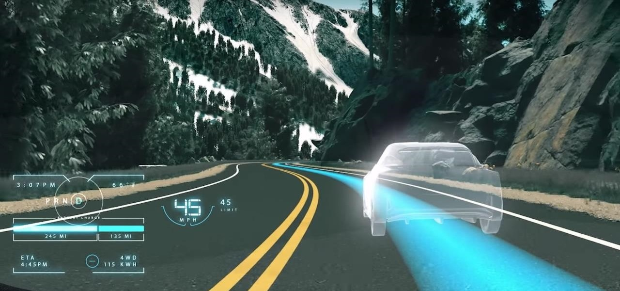Nissan Augmented Reality Concept Assists Drivers in Detecting Unseen Obstacles