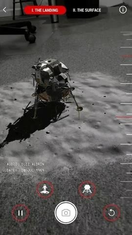 These Apollo 11 Augmented Reality Experiences from Google, USA Today, Time, & Smithsonian Will Fly You to the Moon