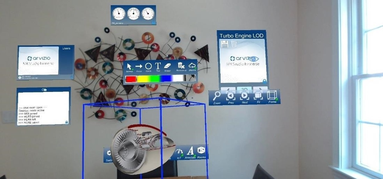 Share the HoloLens Experience Through MR Studio ViewPoint from Arvizio
