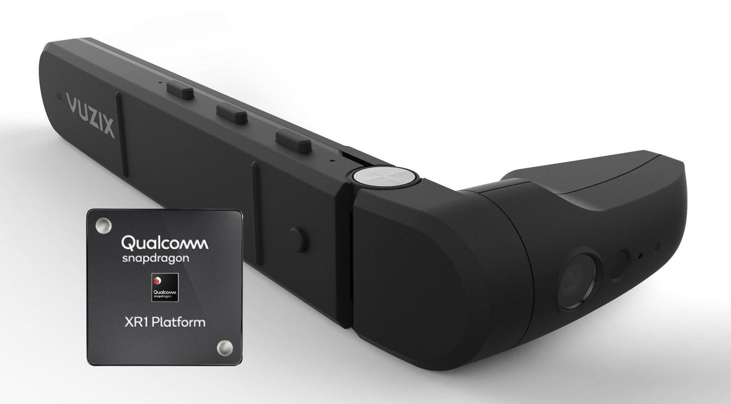 Vuzix Reveals First Smartglasses Running on Qualcomm's Snapdragon XR1 with the M400