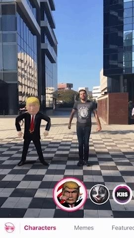 Apple AR: Fuse.it Brings Political Memes into the AR World