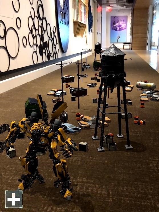 Transformers Really Are More Than Meets the Eye in New Movie Tie-in AR App