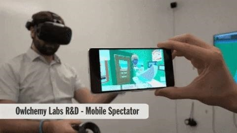 Owlchemy Labs ARCore Experiment Lets Android Users View a Friend's VR Experience from Their Smartphone