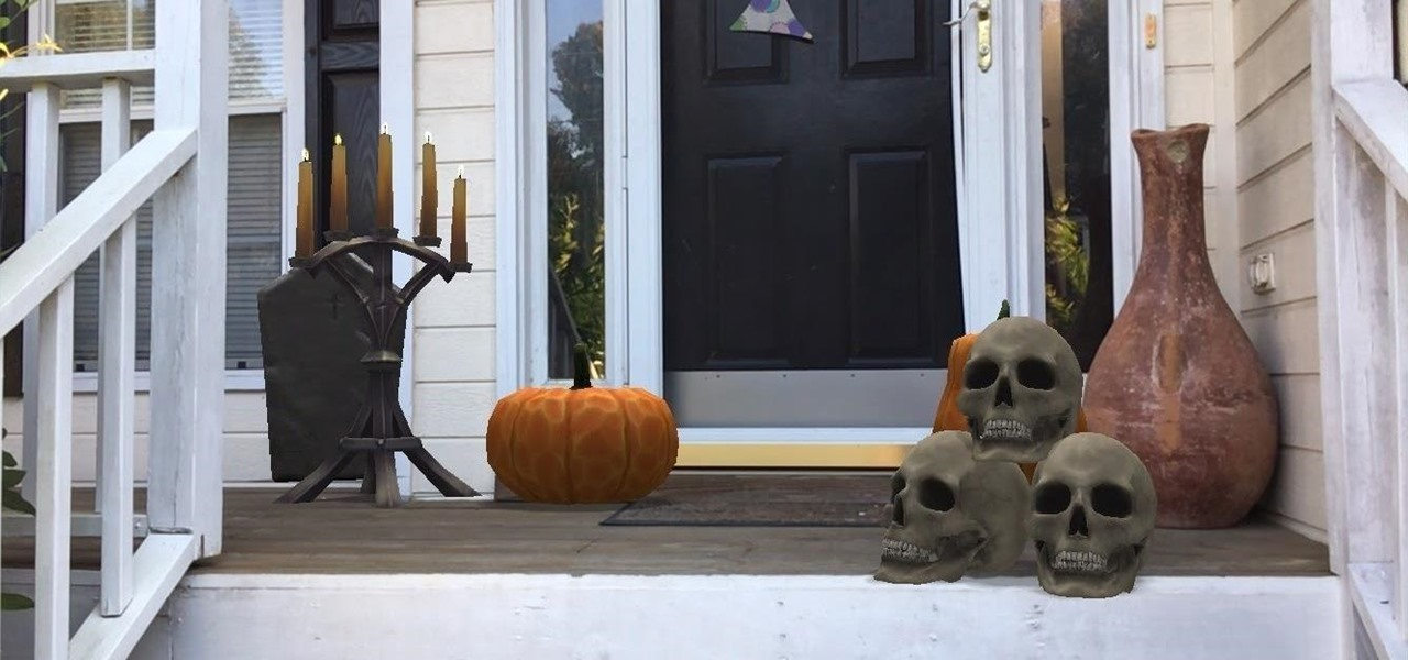 Get in the Halloween Spirit with These Spooky ARKit Apps for iPhone