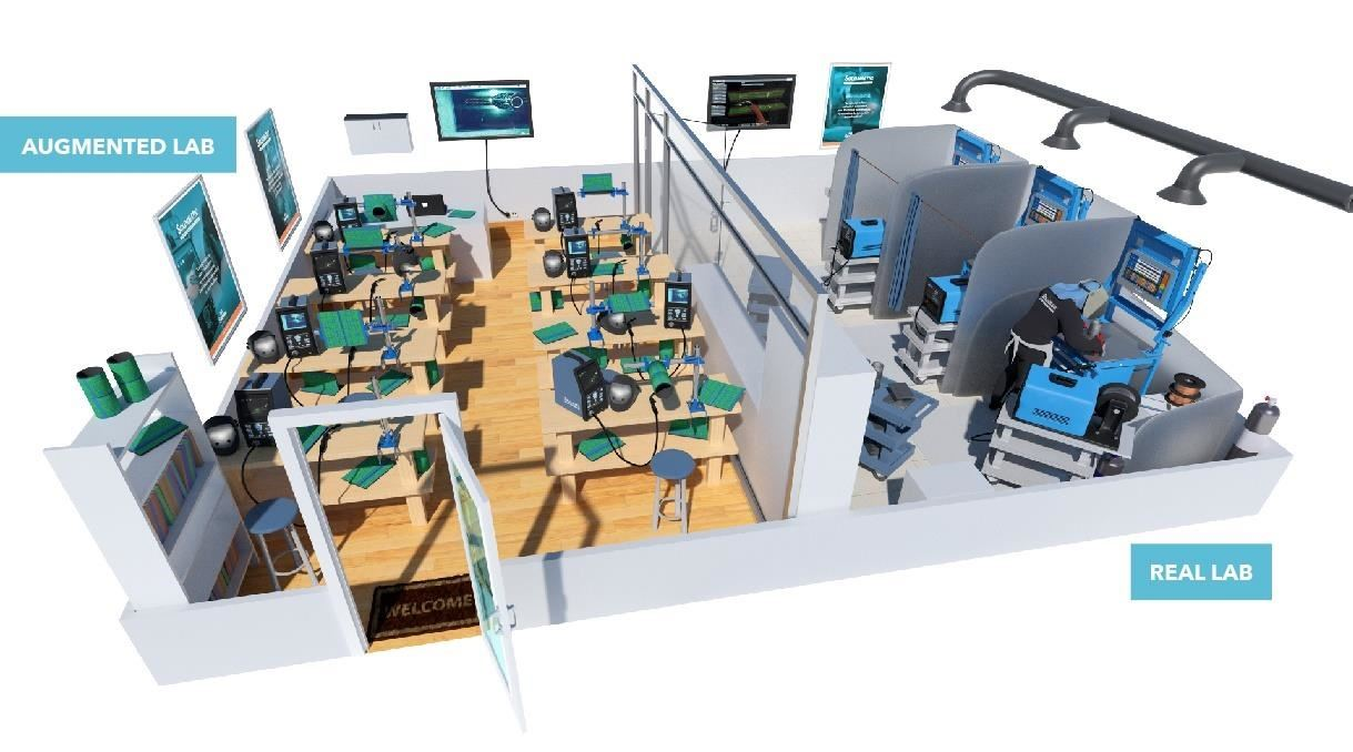 Welding Simulator Uses Augmented Reality to Teach Students Safely