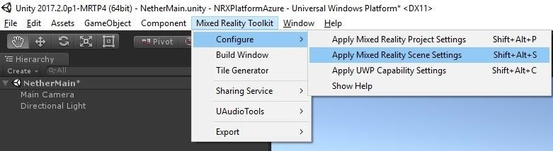 AR Dev 101: Create Cross-Platform AR Experiences with Unity & Azure Cloud, Part 2 (Installing Project Nether & MRTK)