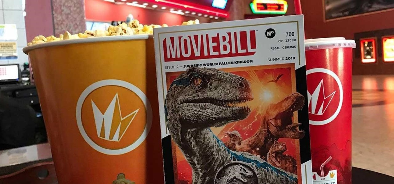 Moviebill Captures the Dinosaurs of 'Jurassic World: Fallen Kingdom' in Augmented Reality