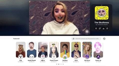 Snapchat AR Lenses Jump from Mobile to Desktop with Snap Camera App