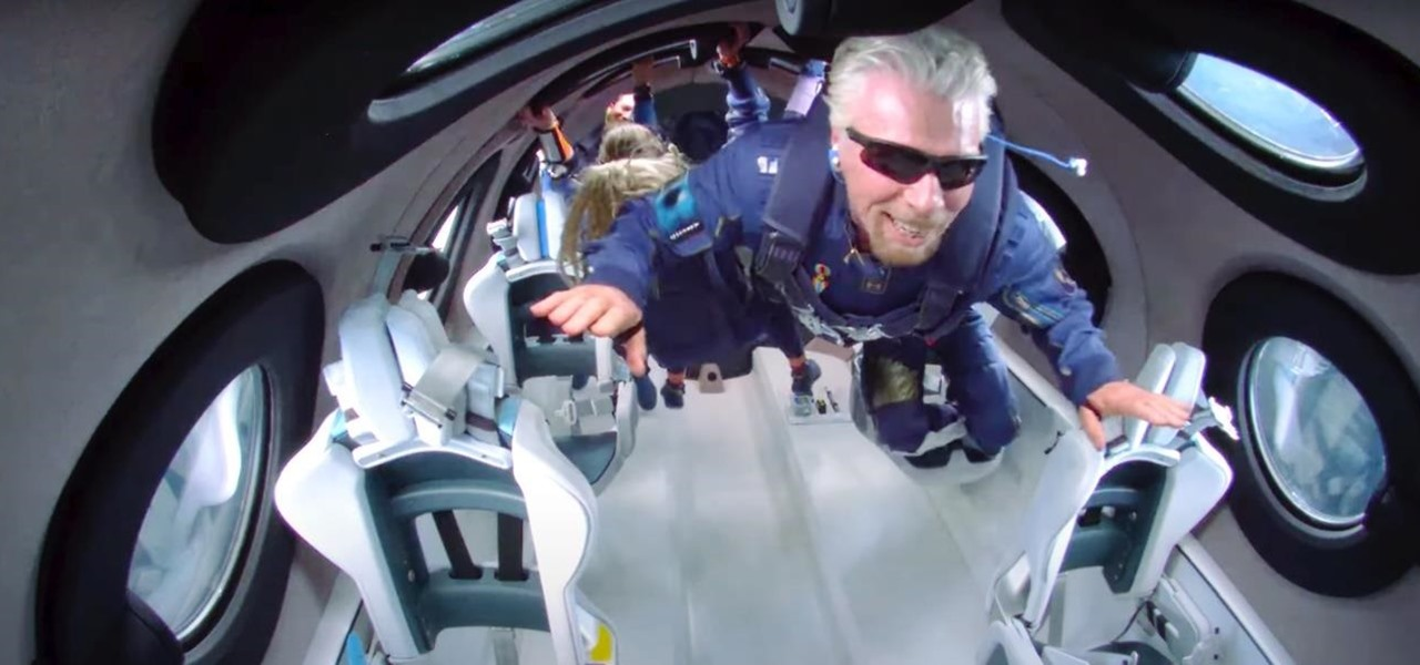 Virgin Galactic App Uses Augmented Reality to Let You Sample Space Tourism with Richard Branson