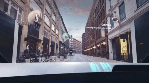 BMW Augmented Reality Windshield Concept Adds Gaze Detection for Natural Interaction