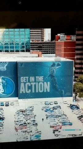 ESPN, Fox Sports, and NBA Clippers & Mavericks draw Augmented Reality to win fans