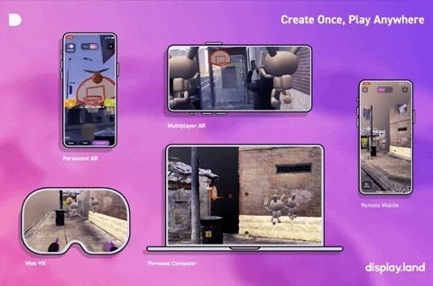 Startup Ubiquity6 Expands 3D Object Social Network into AR Cloud Creation with Display.land Studio