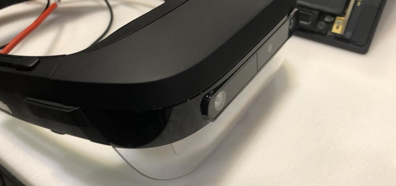 Play Along with Lenovo ThinkReality A6, a Disappointing Step Back from Augmented Reality's Edge