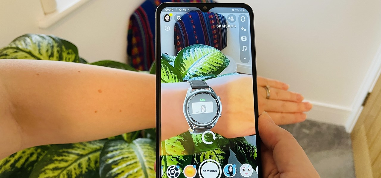 You Can Now Try-On & Test Samsung Galaxy Smartwatches in AR via Snapchat