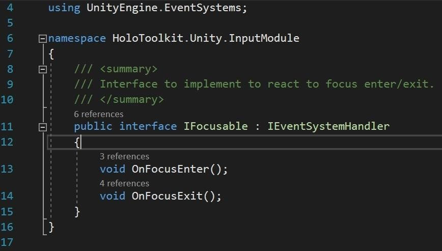 HoloLens 101: Building a Dynamic User Interface for the HoloLens, Part 3 (Focus & Materials)