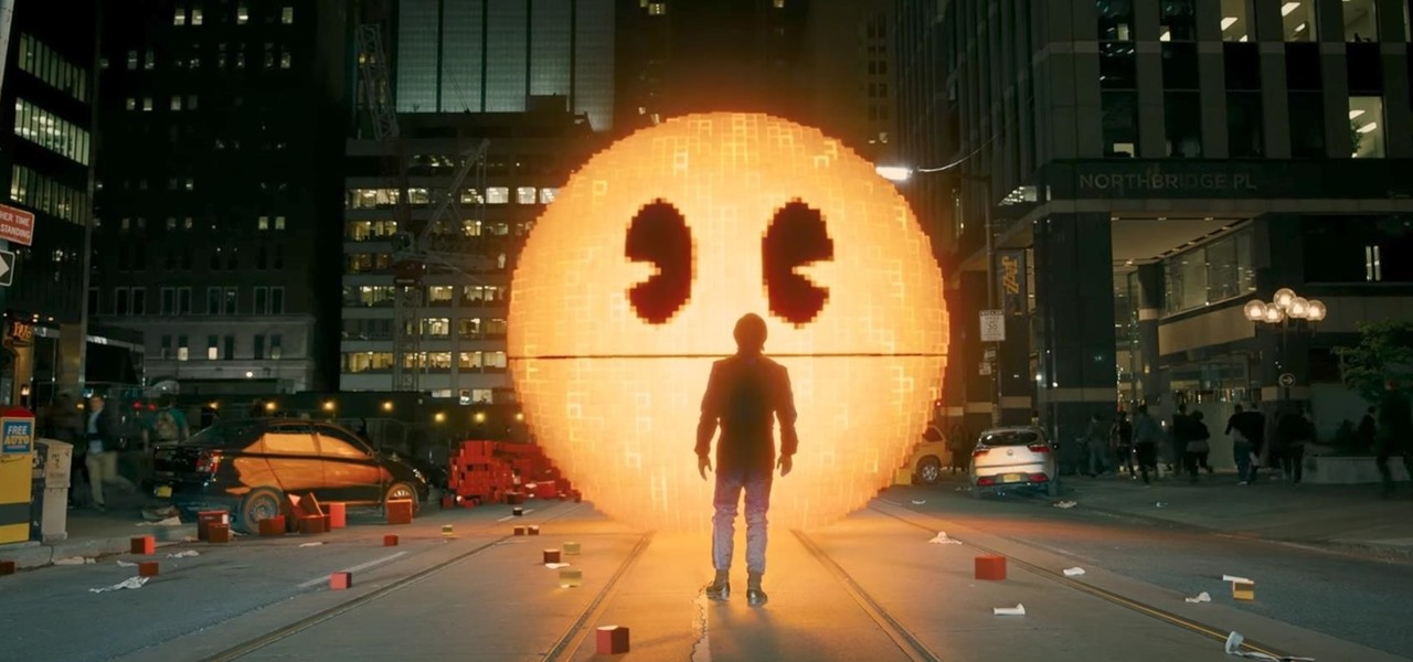 Become Pac-Man with Immersive Augmented Reality Game