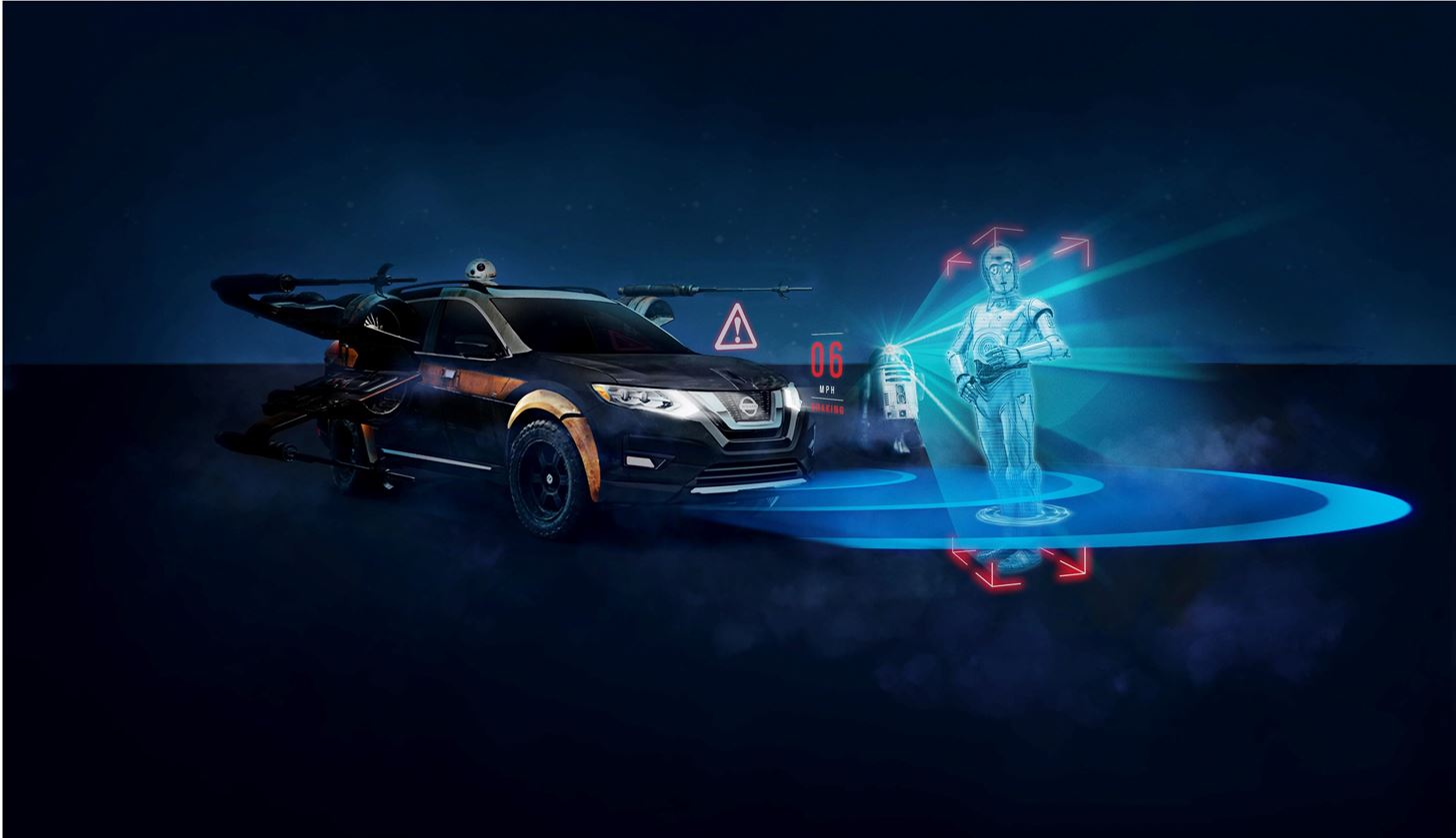 Nissan Brings the Force of Star Wars to Its Dealerships with Augmented Reality