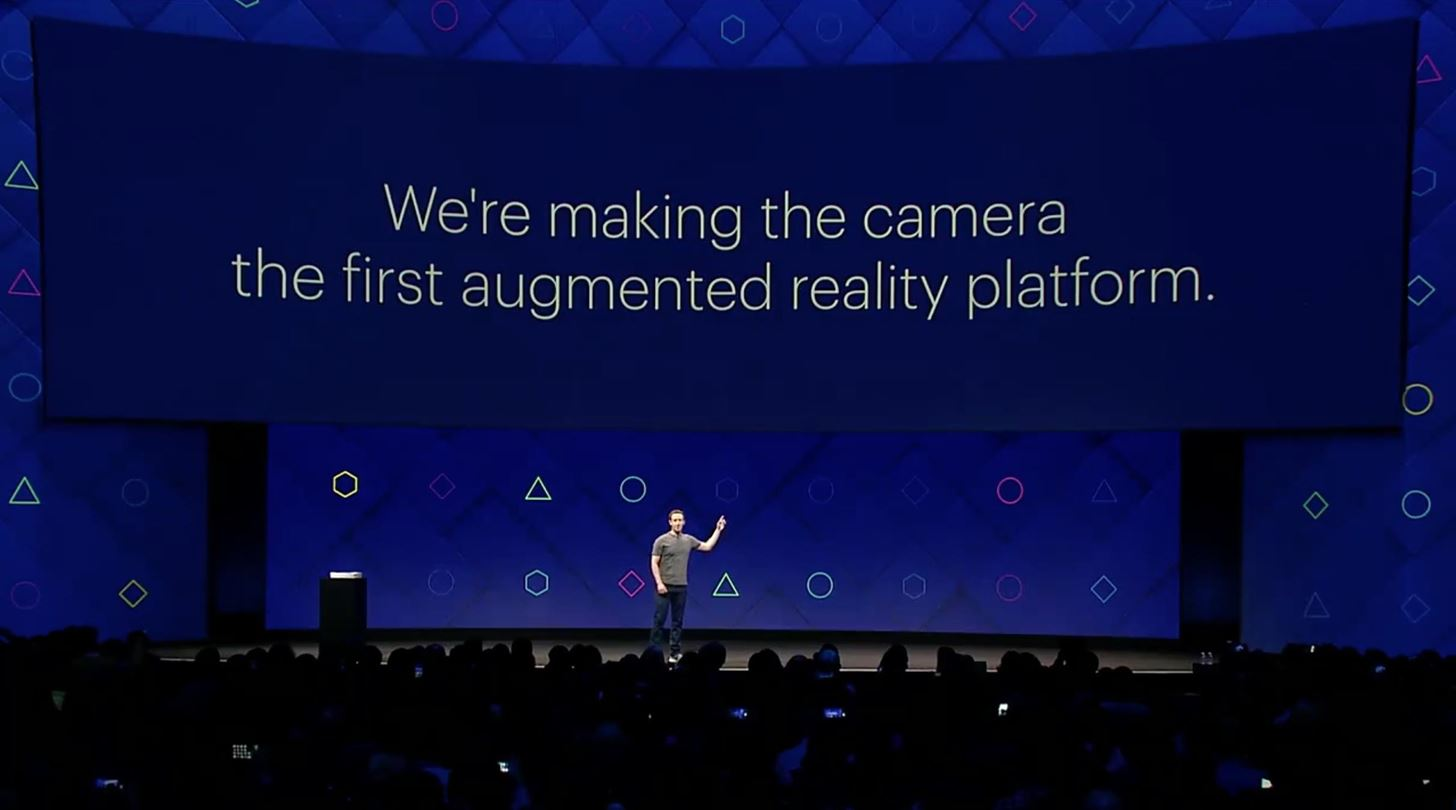 Facebook Introduces AR Platform at F8