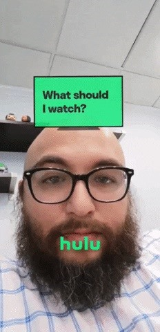 Hulu Follows Instagram's Viral Sensation with Branded 'What Should I Watch' Lens on Snapchat