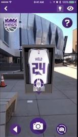 NBA's Sacramento Kings Unveil New Uniforms via Augmented Reality