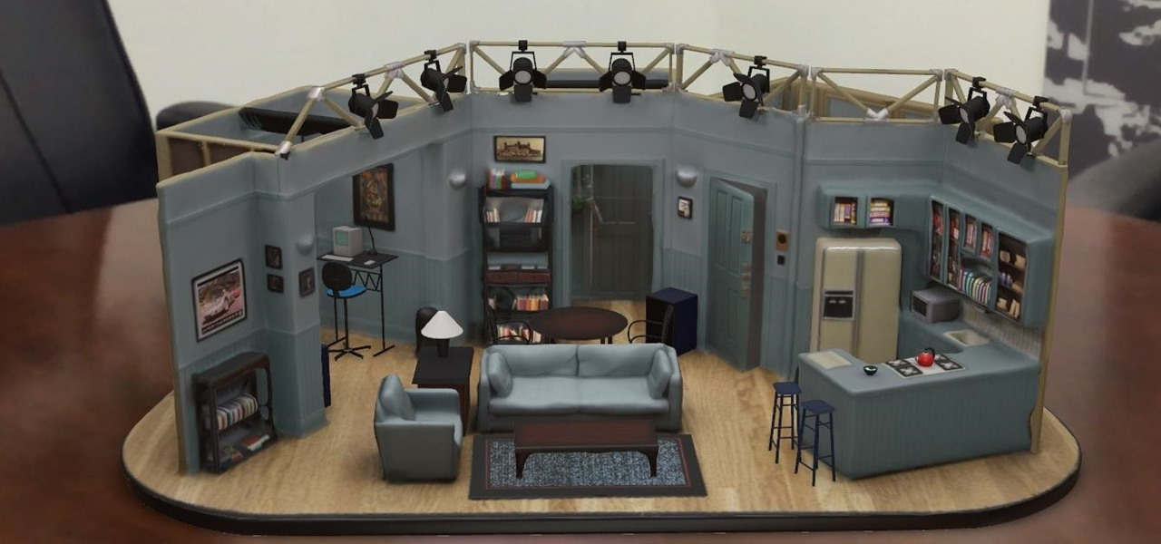 Hang Out in Seinfeld's Apartment via an Augmented Reality Replica on Your iPhone or iPad