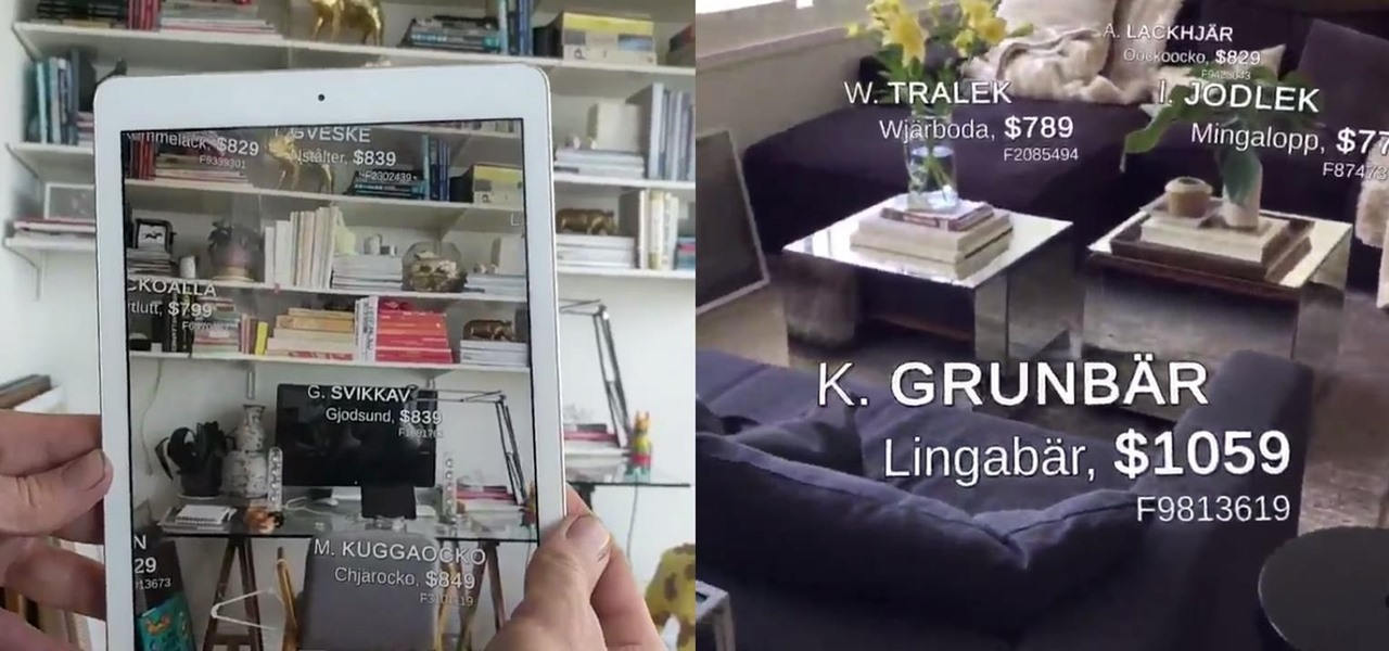 ARKit Turns Artist's Apartment into Fight Club's IKEA Scene