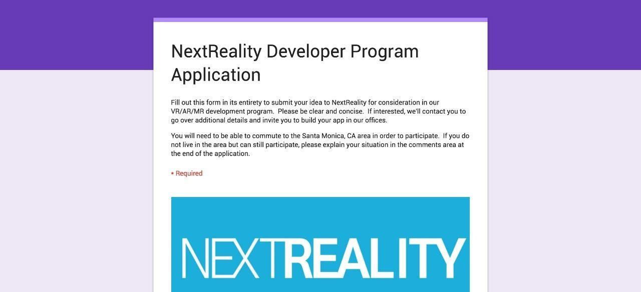 Come Build an Awesome Virtual or Mixed Reality Experience with Us!