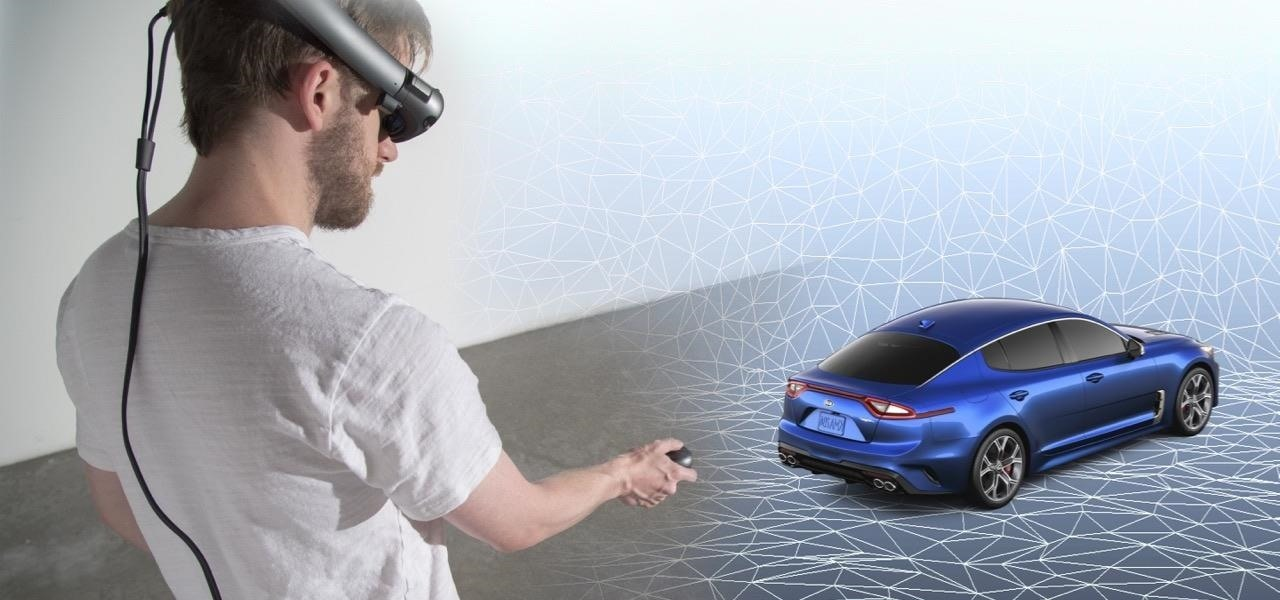 Magic Leap Roars into the Auto World via Kia Stinger App from RelayCars