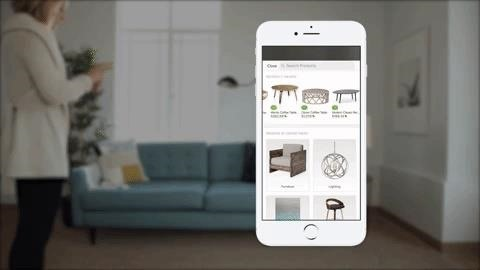 Apple AR: Houzz ARKit App Beats IKEA to the App Store