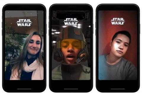 Facebook Messenger Blasts Out Trio of Star Wars AR Effects for 'Rise of Skywalker'