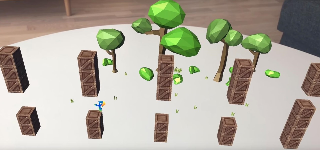 Apple AR Prepare To Rage In Real Life With Augmented Reality - Flappy bird in real life