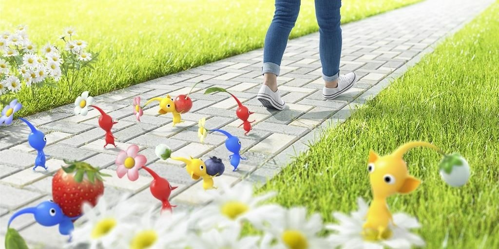 Niantic Adapting Pikmin as Mobile AR Game in New Alliance with Nintendo