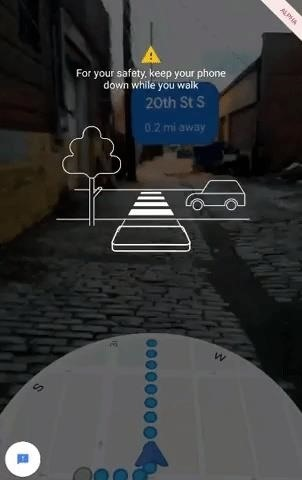 Hands-on with Google Maps Walking AR navigation experiment, a glimpse into the future of our Smartglasses