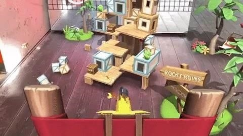 Hands-On: Angry Birds AR: Island of Pigs reinvents franchise for mobile, but smartglasses are their destiny