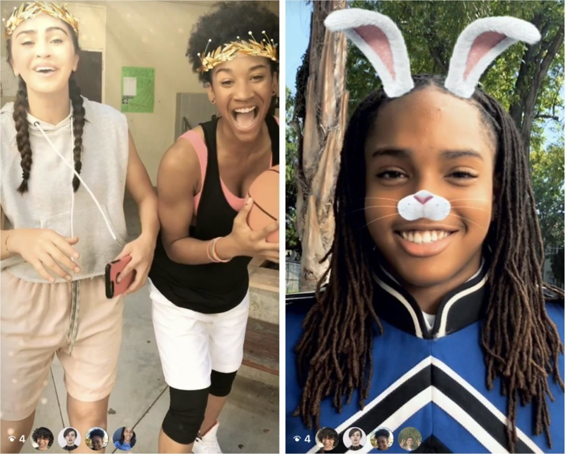 Instagram Swipes Snapchat Lenses with Furry AR Koala Ears & Icy 3D Crowns