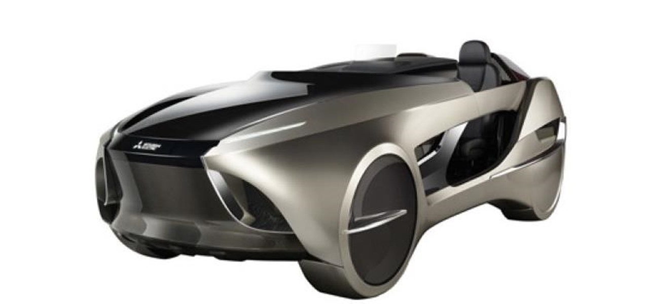 Mitsubishi Concept Car Includes AR Display to Improve Driver Safety