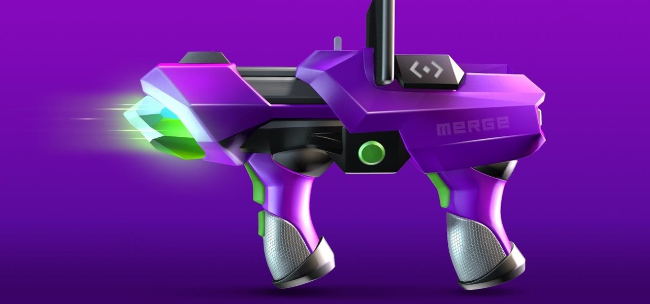 Merge Locks & Loads 6DoF Blaster for Mobile AR Shooting Games
